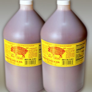 Case ofTwo One Gallon Bottles of Scotts BBQ Sauce