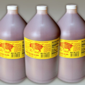 Case of Three One Gallon Bottles of Scotts BBQ Sauce