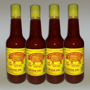 4 Bottles of Scott's BBQ Sauce – 10 fl oz each.